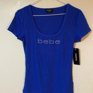 Royal blue Bebe t shirt
